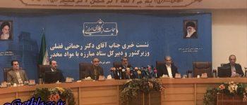 در خرمشهر هیچ کشتهای نداشتیم/ اعتراضات به آب اصلا شرکت یافته و امنیتی نیست ، وزیر کشور